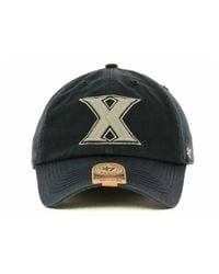 47 Brand | Blue Xavier Musketeers Ncaa '47 Franchise Cap for Men | Lyst
