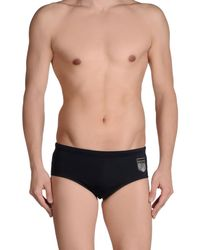 Dirk Bikkembergs - Black Bikini Bottoms for Men - Lyst