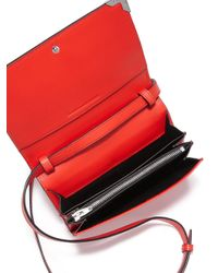 Alexander Wang   Red Prisma Biker Calf Leather With Rhodium   Lyst