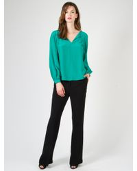 Alice & Trixie | Green Jordan Top | Lyst