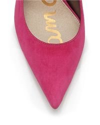 Sam Edelman | Pink Dea Pointed-toe Pumps | Lyst