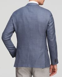 Hart Schaffner Marx - Blue Platinum Label Shepherd's Check Sport Coat - Classic Fit - Bloomingdale's Exclusive for Men - Lyst