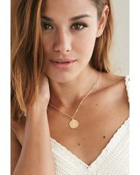 Forever 21 - Metallic Moon And Lola Small Dalton S Necklace - Lyst