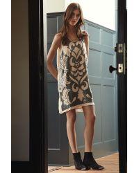 Velvet By Graham & Spencer - Gray Delphinia Sequin Shift Dress - Lyst