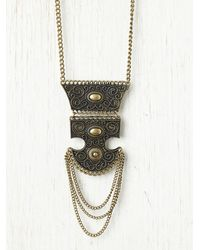 Free People | Metallic Asura Tribal Necklace | Lyst