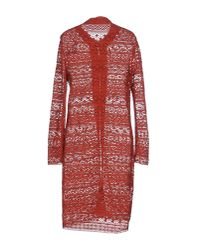Jo No Fui - Red Full-length Jacket - Lyst