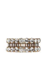 Erickson Beamon - Metallic 'temptress' Crystal Bracelet - Lyst