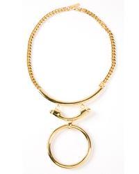 Eddie Borgo - Metallic O Ring Necklace - Lyst