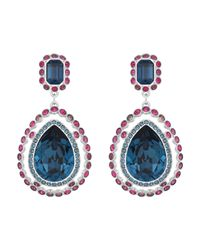 Swarovski - Multicolor Darling Pierced Earrings - Lyst