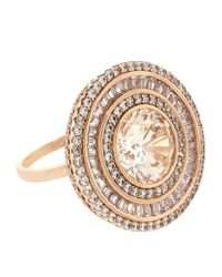 Carat* | Metallic Melissa In Padparadscha Cocktail Ring | Lyst