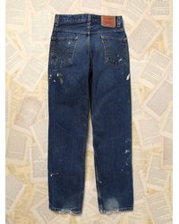 Free People - Blue Womens Vintage Levi'S Jeans - Lyst