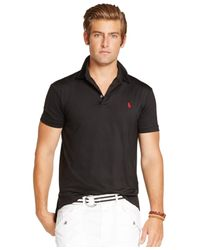 Polo Ralph Lauren | Black Lisle Performance Polo for Men | Lyst