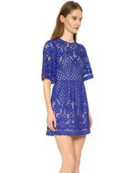BCBGMAXAZRIA | Blue Jillyan Dress | Lyst