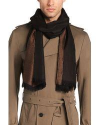 BOSS - Natural 'scarf Cm'   Wool Melange Scarf for Men - Lyst