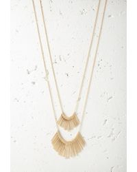 Forever 21 - Metallic Matchstick Charm Necklace Set You've Been Added To The Waitlist - Lyst