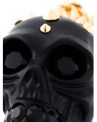 Alexander McQueen | Black Skull Pendant Necklace | Lyst
