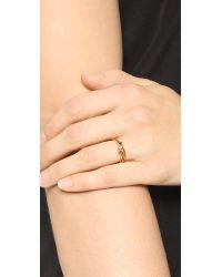 Jennifer Zeuner - Metallic Wren Colored Ring Set - Lyst