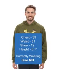 Under Armour - Green Ua Storm Armour® Fleece Overline Hoody for Men - Lyst