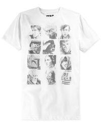 Jem - White Star Wars Pencil Wars T-shirt for Men - Lyst