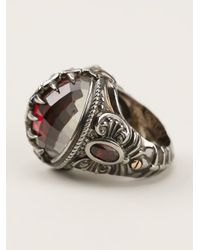 Stephen Webster | Metallic Fish Skeleton Round Ring | Lyst
