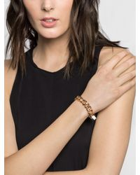 BaubleBar | Pink Leather Wrap Cuff | Lyst