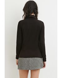 Forever 21   Black Classic Turtleneck Top   Lyst