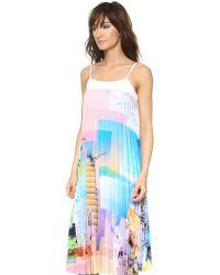 Clover Canyon - Multicolor Greek Dream Pleated Dress Multi - Lyst