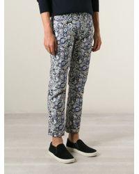 KENZO | Black Multi Logo Trousers for Men | Lyst