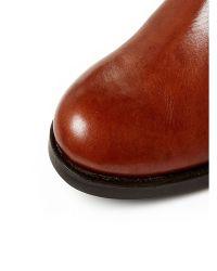 Moda In Pelle | Brown Tulsy Low Smart Long Boots | Lyst