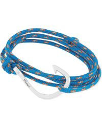 Miansai | Blue Hook Rope Bracelet - For Men | Lyst