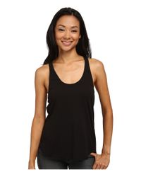 Volcom - Black Lived In Overdyed Racer Top - Lyst