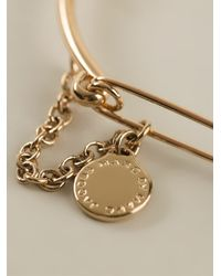 Marc By Marc Jacobs | Metallic Music Fiend Safety Pin Bracelet Bracelet | Lyst
