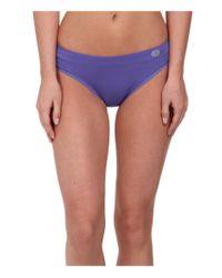 Terramar - Purple Natara™ Performance Thong W8828 1-pair Pack - Lyst