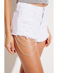 Forever 21 | Metallic House Of Blaise Leg Chain | Lyst