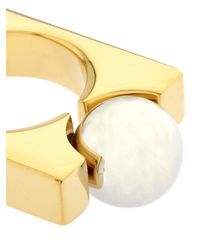 Chloé - Metallic Darcey Ring - Lyst