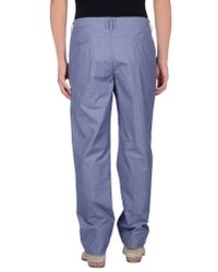 Peuterey - Blue Casual Trouser for Men - Lyst