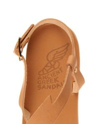 Ancient Greek Sandals - Natural Fotini Leather Sandals - Lyst