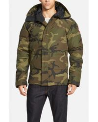 Canada Goose | Green Macmillan Hooded Down Parka for Men | Lyst