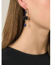 Isabel Marant - Blue Fish Charm Earrings - Lyst