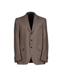 Cesare Attolini - Brown Blazer for Men - Lyst