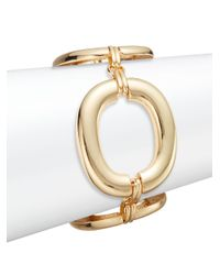 Saks Fifth Avenue - Metallic Oversized Oval Link Bracelet/goldtone - Lyst