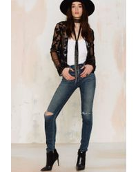 Nasty Gal | Multicolor Four To The Floral Lace Cardigan | Lyst