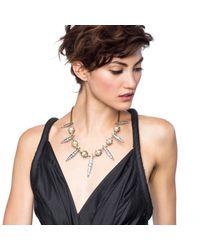 Lulu Frost - Metallic *new* Oleander Spike Necklace - Lyst