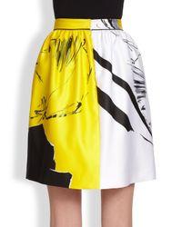 Prabal Gurung | Classic Rose Print Skirt | Lyst