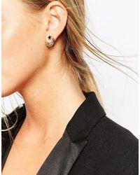 ALDO | Black Cruwien Through & Thorugh Earrings | Lyst