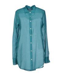 813 Ottotredici | Blue Shirt | Lyst