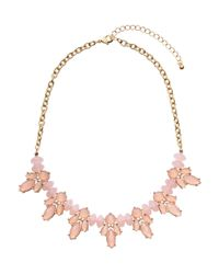 H&M | Pink Short Necklace | Lyst
