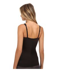Tc Fine Intimates | Black Moderate Control Shape Camisole | Lyst