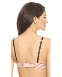 Stella McCartney - Black Millie Drawing Thong - Peony - Lyst