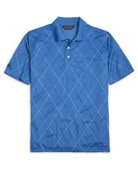 Brooks Brothers | Blue St Andrews Links Argyle Polo Shirt for Men | Lyst